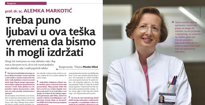 Aktualan je razgovor s dr. Alemkom Markotić