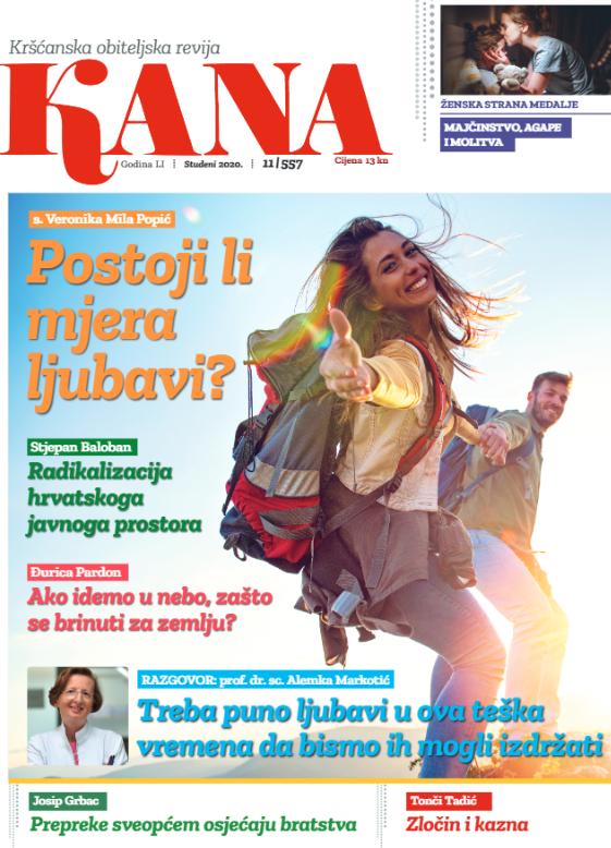 Kana, kršćanska obiteljska revija, studeni 2020.